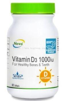 NOVA Vitamin D3 1000 IU (60��S)