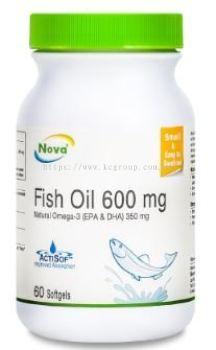 NOVA Fish Oil 600mg (60'S)