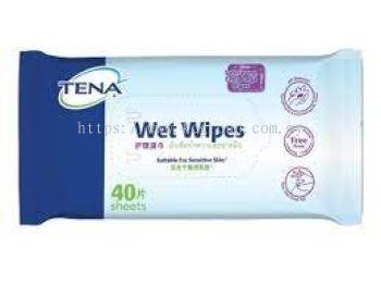 TENA Wet Wipes (40'S)