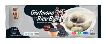 Glutinous Rice BallBlack Sesame 10PCS