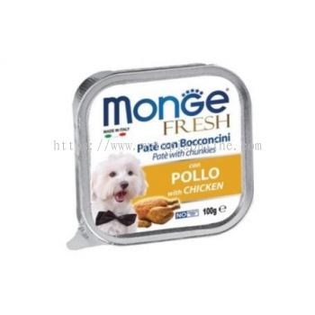 MONGE DOG 100G -CHICKEN