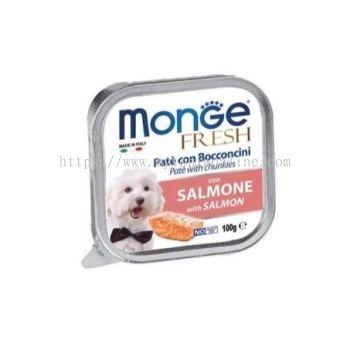 MONGE DOG 100G -SALMON