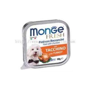 MONGE DOG 100G -TURKEY