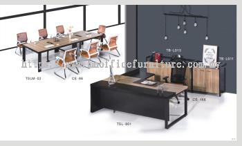Director Table Set Package Deal - TSL-801+TB-L11+L013