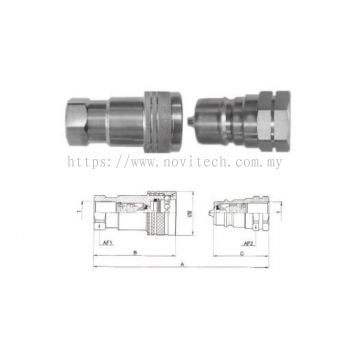 HAB Series : Multiple Purpose ISO 7241-1A Coupling - Brass