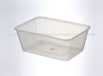 1000ml Rect Container With Lid