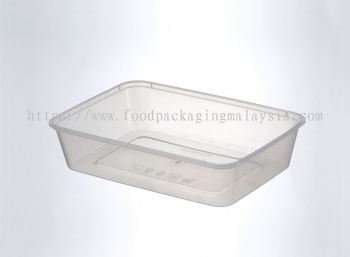 500ml Rect Container With Lid