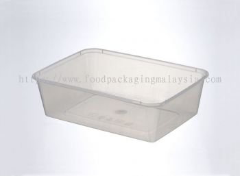 650ml Rect Container With Lid