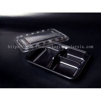 BT-1 (Plastic Disposable Tray & Lid)