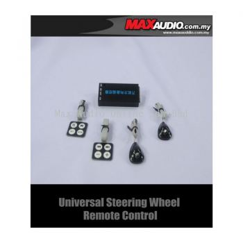 Universal Steering Wheel Control for Single/ Double Din DVD CD Player