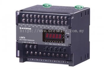 Multi Power Transducer with 10 Analogue Outputs - LSMT4
