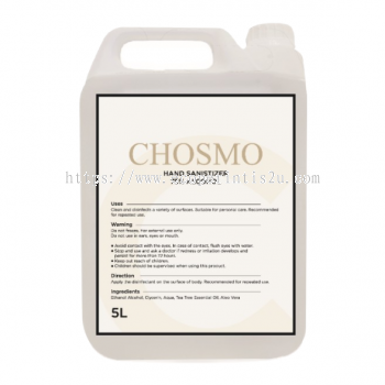 Chosmo Ethanol Alcohol 75% Gel Sanitizer