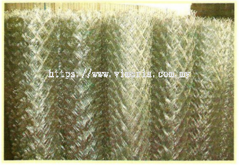 GALVANIZED WIRE FENCE