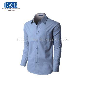 Mens classic formal / uniform wear, Premium quality comb cotton fabric. Customizable