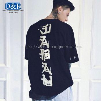 Oversize Tee, Streetwear, Premium Bamboo cotton fabric, Customizable