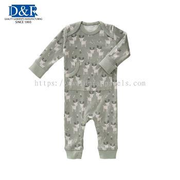 Baby custom made Pyjamas, Premium French Terry. Customizable