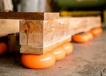 Air Dampened Pallet Cushion Ball (With T-Nut)