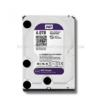 WD Purple Surveillance Hard Drives 4TB