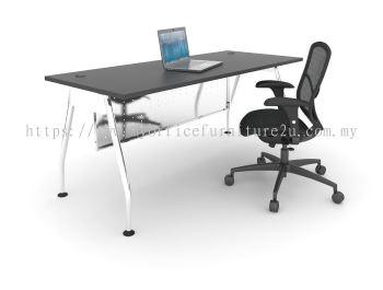 AR1275 A Leg with Rectangular Table 1200L x 750D x 750H mm (Walnut)