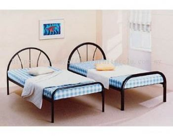STB99 Single Bed Black Frame (1985W x 960D x 885H mm)