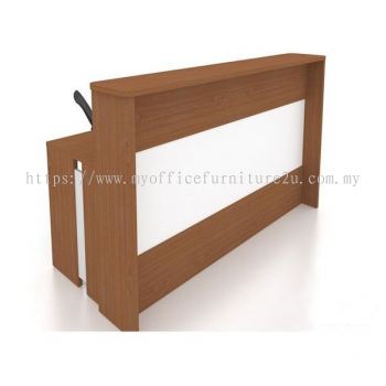 PIS19  Reception Counter (Cherry + White)