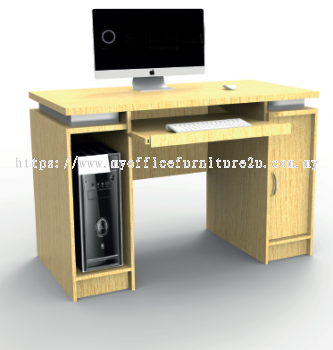 CT100 Computer Table 1200W x 600D x 750H mm (Maple)