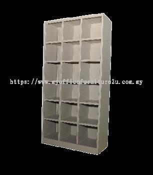 SPH18/4515 Full Height Pigeon Hole 18 (Light Grey)