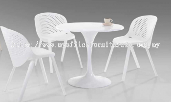 DC262-APP-BE/WHT Dining Chair
