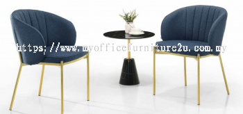 HDC024-L/GY-BK Dining Chair
