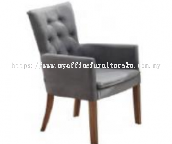 GOLD03-216-WL Dining Chair Fabric Charcoal