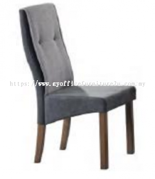 GOLD23-403-WL Dining Chair Fabric Grey