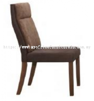GOLD03-220-WL Dining Chair Fabric Brown