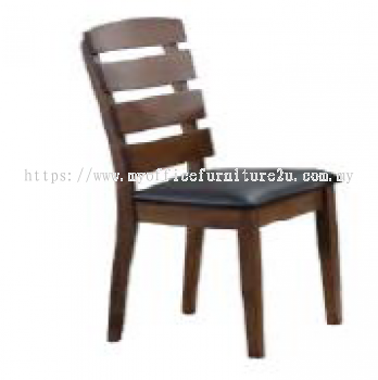 GOLD 04-1911-WL Dining Chair Pu Leather Black