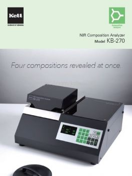 Kett NIR Composition Analyzer KB-270