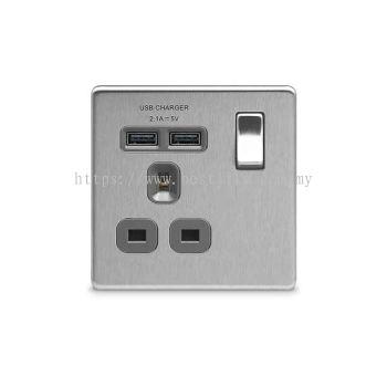 Switch Socket with USB