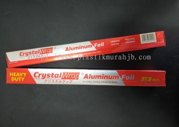 450mm CrystalWrap Aluminium Foil, 450mm Kertas Timah Crystal Wrap