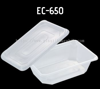 EC-650 Foaming Rect Container