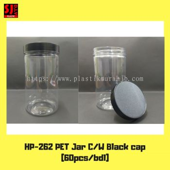 HP-262 PET Jar (Black)