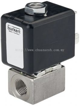 Type 7011 - Plunger valve 2/2 way direct-acting