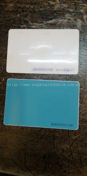 done duplicate access card