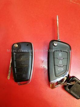 Nissan Navara flip key remote control