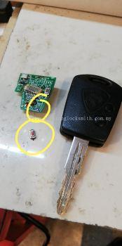 repair proton saga car remote control