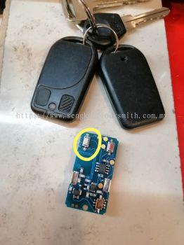 Repair Toyota Hiace remote control