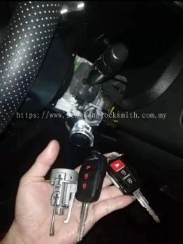 proton Exora car lock