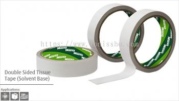 Double Sided Tissue Tape (Solvent Base)