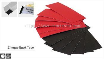 Cheque Book Tape