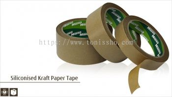 Siliconised Kraft Paper Tape