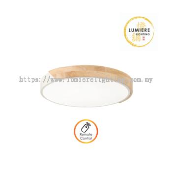 Nordic Muji Wood Minimalist Ceiling Light