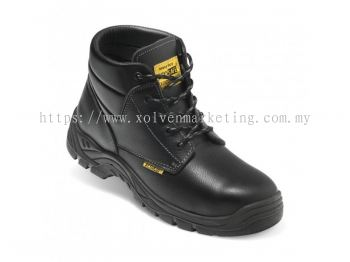 Ankle - Cut Safety Shoe With Shoe Lace - PU SOLE