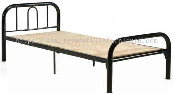 Steel Single Bed/katil bujang Hostel/Asrama